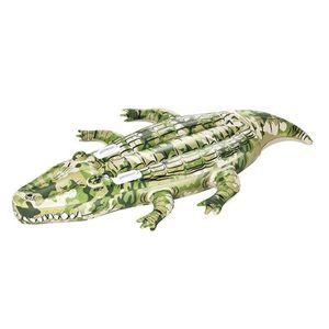 BOUÉE - BRASSARD Bestway - Bouée géante crocodile motif camouflage