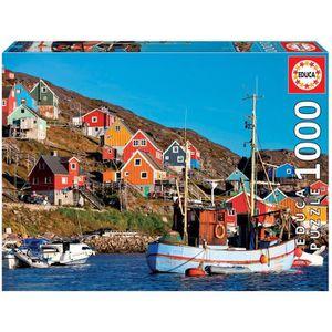 PUZZLE EDUCA Puzzle 1000 Maisons Nordiques