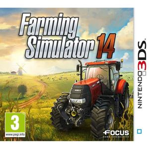 JEU 3DS Farming Simulator 14 3DS