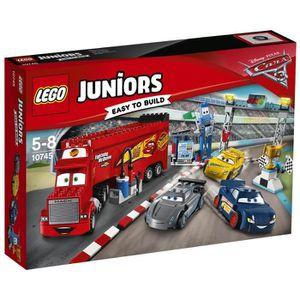 ASSEMBLAGE CONSTRUCTION LEGO® Juniors Cars 3 10745 La Finale de 500 Miles