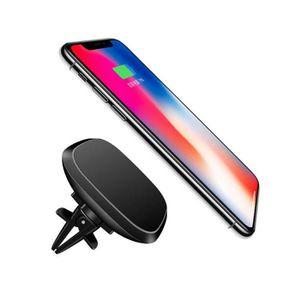 CHARGEUR TÉLÉPHONE Qi Car Magnetic II Chargeur sans fil pour Samsung