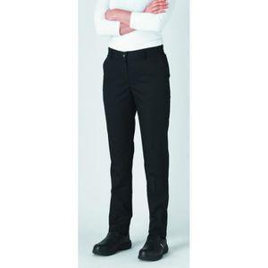 PANTALON PRO Pantalon de cuisine femme slim ceinture élastiquée