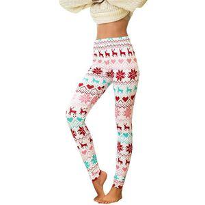 Femmes Mode Skinny Imprimé Rose Yoga Leggings Footless Crayon Pantalon