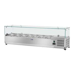 BUFFET RÉFRIGÉRÉ  Saladette Table Comptoir Réfrigéré 45 L De +2 À +1