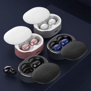 CASQUE AVEC MICROPHONE TEMPSA 1Paire Ecouteurs Bluetooth 5.0 Avec 400mah