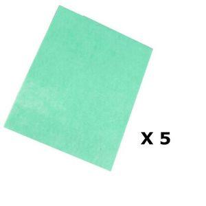 SERPILLIÈRE Lot de 5 - Serpillière anti-bactéries - 50 x 40 cm