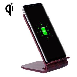 CHARGEUR TÉLÉPHONE Chargeur sans fil iPhone YoLike A8 10W en bois fon
