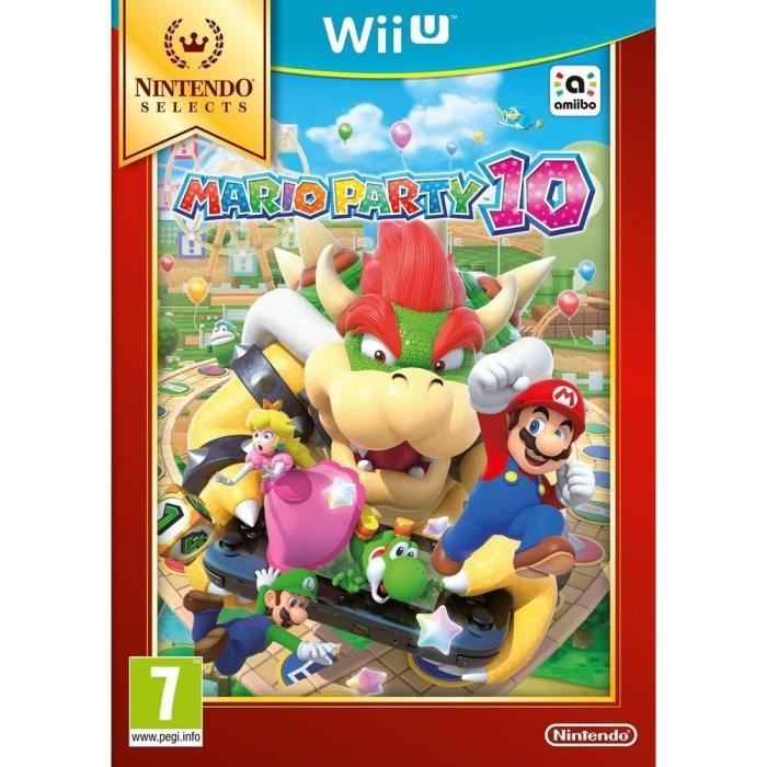 Mario Party 10 Select Jeu Wii U