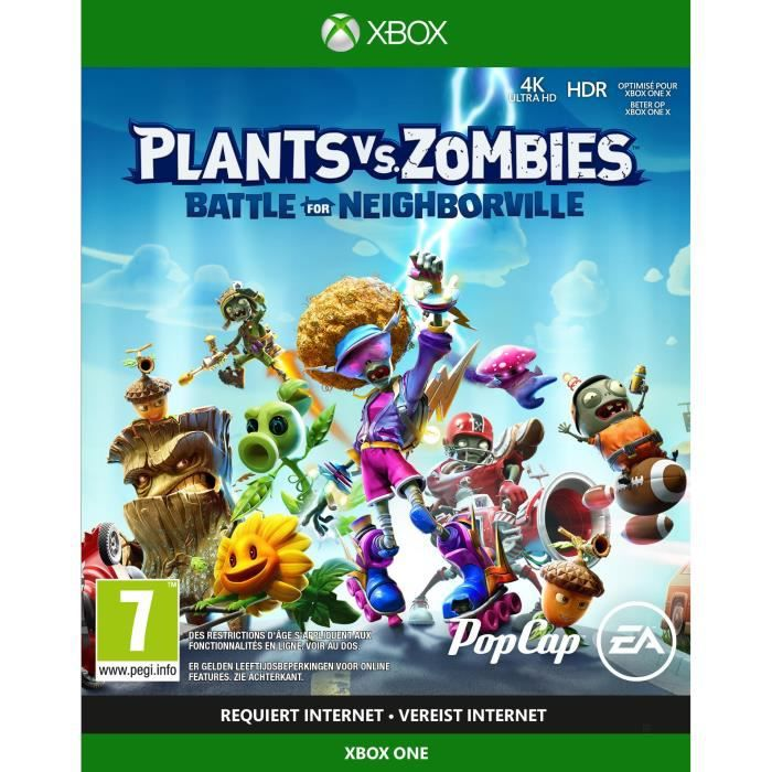 Plants Vs. Zombies: La bataille de Neighborville Jeu Xbox One