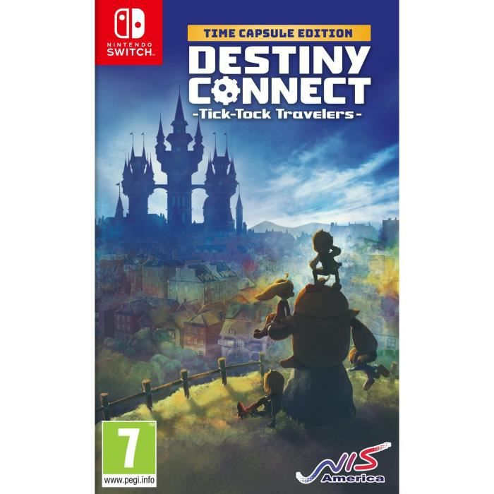 Destiny Connect : Tick-Tock Travelers - Time Capsule Edition Jeu Switch