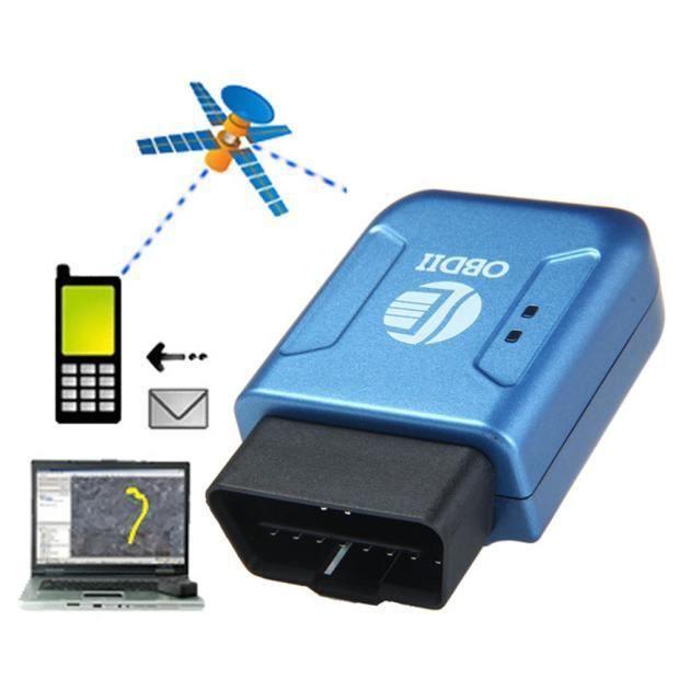 Temps GPS OBDII OBD2 GPRS réel Tracker voiture Système de suivi des véhicules Geo-barrière huaa377