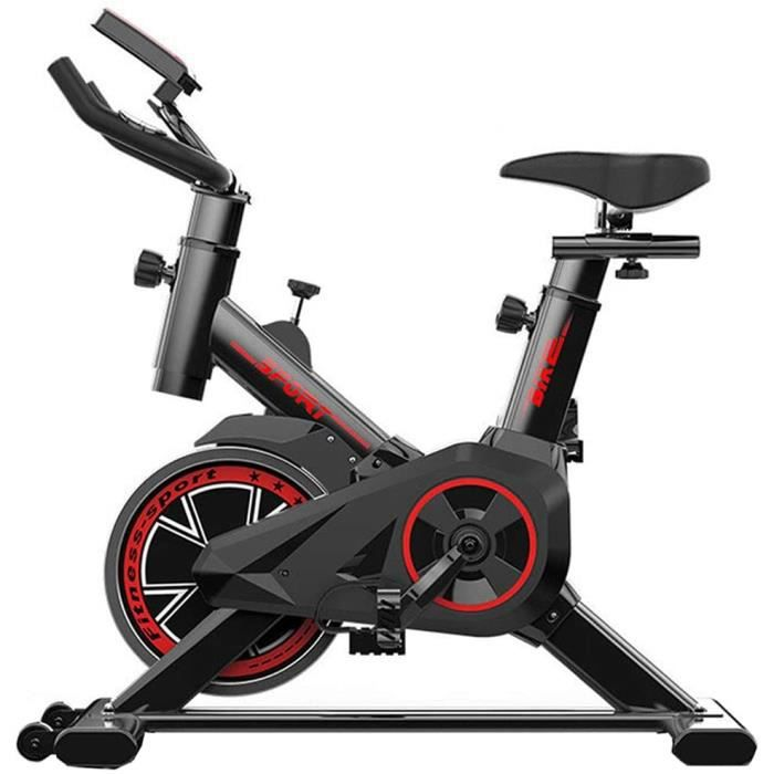 FIT BIKE Excersize V&eacutelo Stationnaire, Spin Indoor Sunny Health & Fitness V&eacutelo De Cyclisme Avec Capteurs De Pouls Ma262