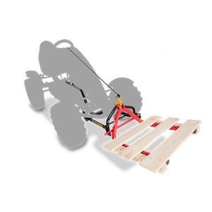 Fourche à palette pour Kart à pédales BERG