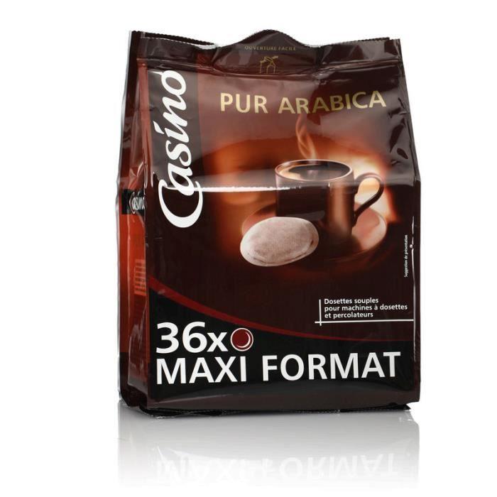 Dosettes pur arabica - 250 g
