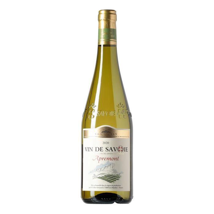 Club des Sommeliers 2019 Apremont - Vin blanc de Savoie