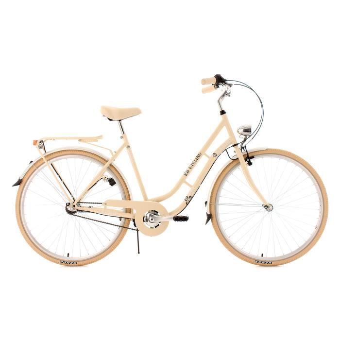 Vélo de ville 28'' Casino beige TC 53cm 3V KS Cycling
