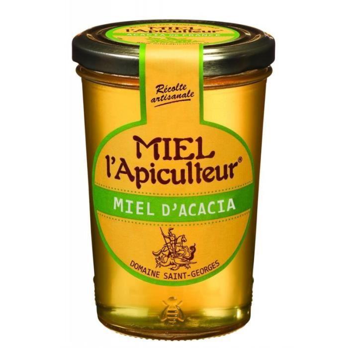 Miel l'Apiculteur Miel d'Acacia 500g (lot de 3)