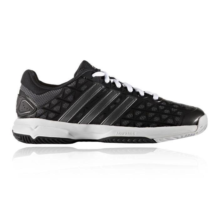 Adidas Barricade Club Xj Enfants Chaussures Sport En Salle Noir