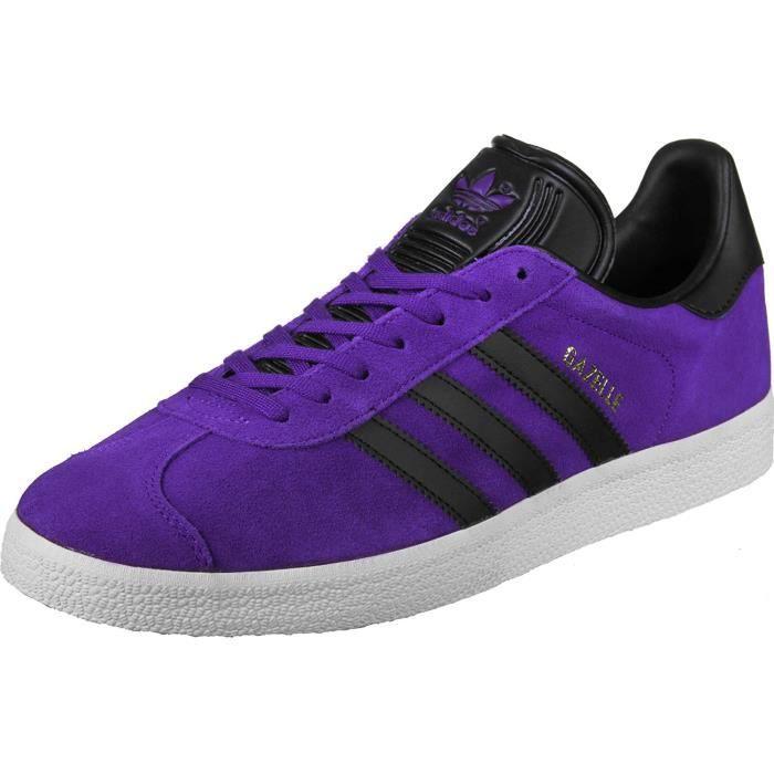 adidas Gazelle, Chaussures de Fitness Homme, Multicolore-Noir (Tinene / Negbas / Dormet), 41.5 EU