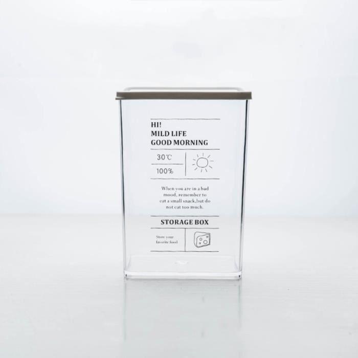 Boîte hermétique de conservation de rangement de cuisine de en de créative (style ENSEMBLE USTENSILES - LOT USTENSILES