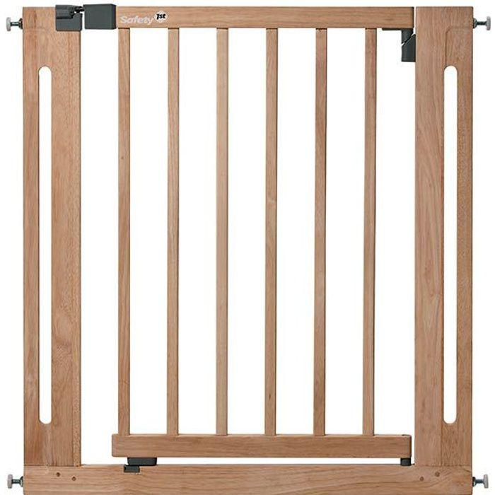 Safety 1st Barrière de sécurité -Easy Close- Bois, 73-80.5 cm