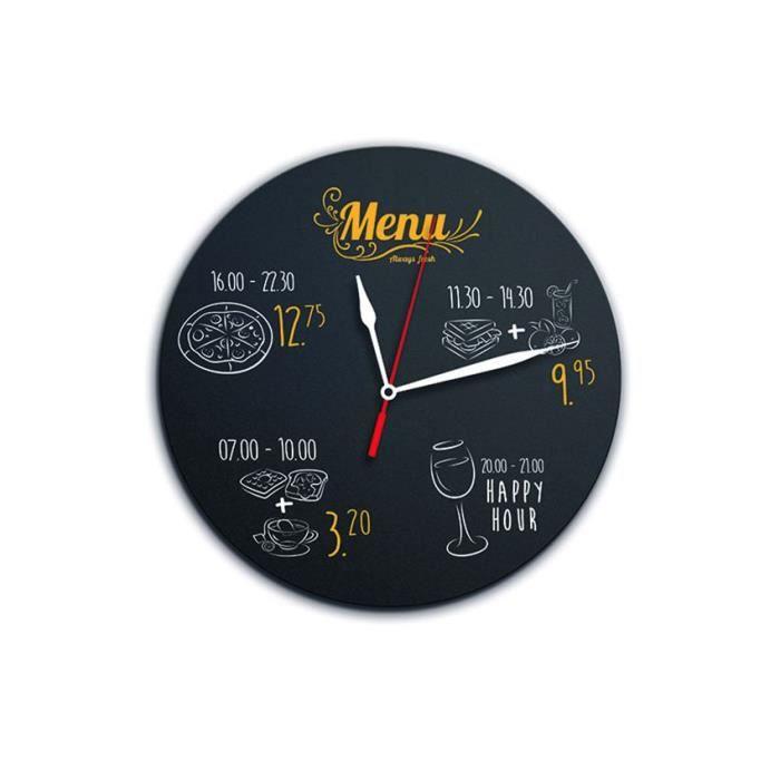 Horloge ardoise - FB-CLOCK 1,5 PVC