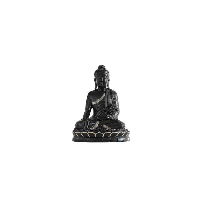 Bureau Sculpture Assis Bouddha Méditation Statue Sakyamuni Sculpture en Résine Zen Bouddha Statue Décoration