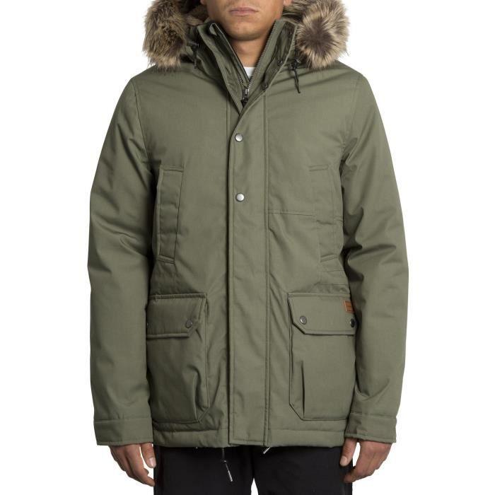 Veste Volcom Lidward 5k Jacket Vert Homme XL