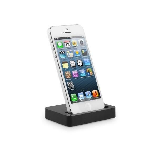 dock charge et synchronisation avec cable iphone 5 achat chargeur t l phone pas cher avis et. Black Bedroom Furniture Sets. Home Design Ideas