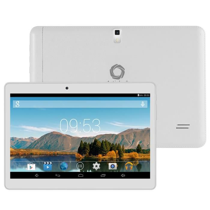 Artizlee atl 21 3g tablette 10 hd 8go blanc achat - Tablette tactile avec port usb ...
