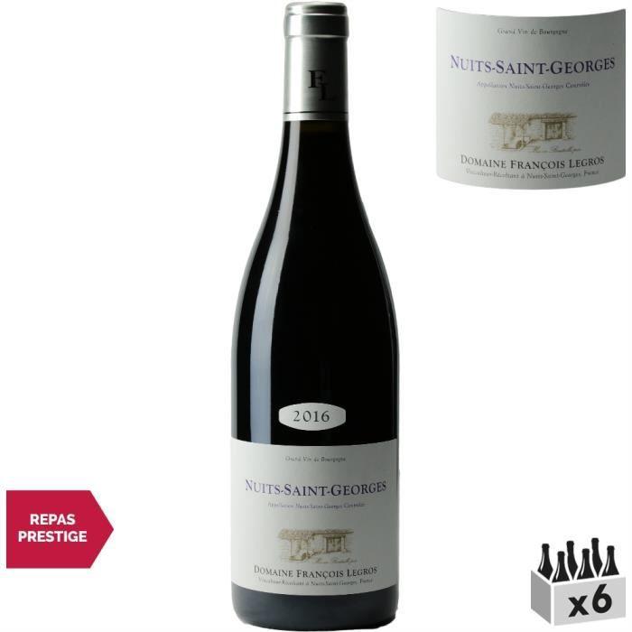 VIN ROUGE Domaine François Legros Nuits-Saint-Georges Rouge