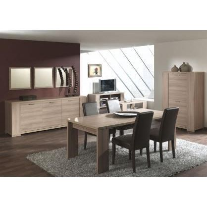 salle manger contemporaine compl te forteo achat. Black Bedroom Furniture Sets. Home Design Ideas