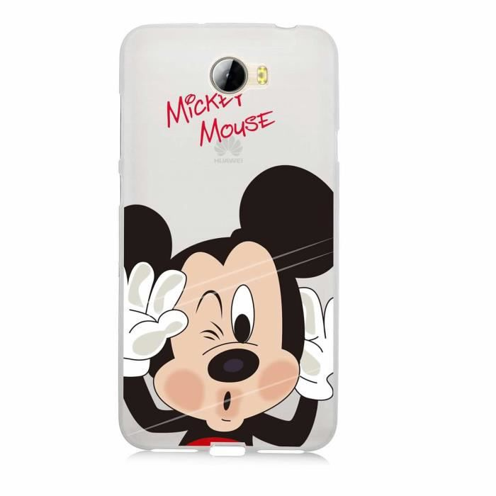 coque huawei y5 mickey