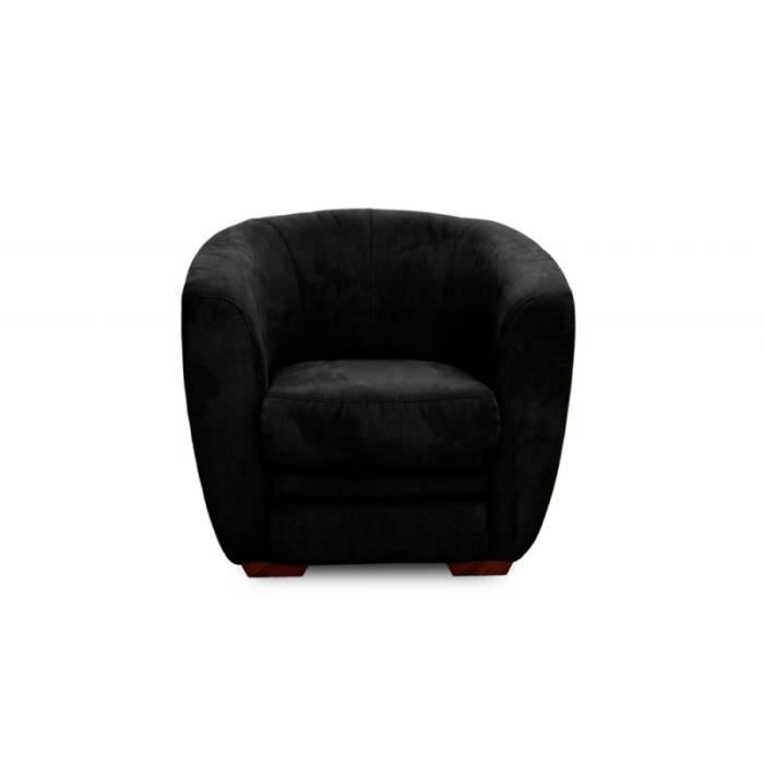fauteuil cabriolet parker noir achat vente fauteuil. Black Bedroom Furniture Sets. Home Design Ideas