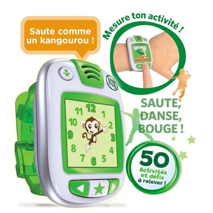 ACCESSOIRE DE JEU LEAPFROG Montre d'Activités LeapBand Vert