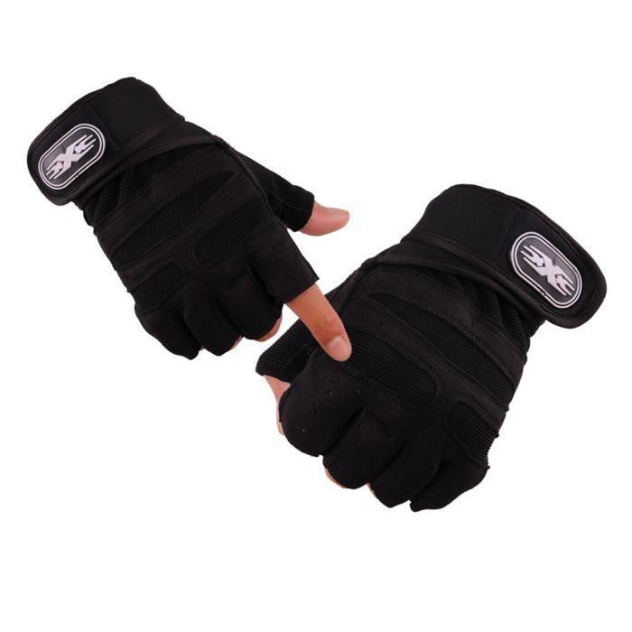 protection paume forte adh/érence Gants de sport gants pour levage de poids d/'entra/înement avec soutien au poignet respirants pour fitness musculation gymnastique Gant fitness levage de poids
