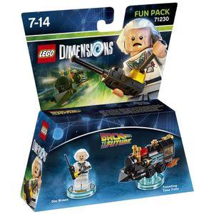 FIGURINE DE JEU Figurine LEGO Dimensions - Doc Brown - Retour vers