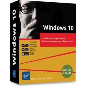 SYSTÈME D'EXPLOITATION Windows 10. Coffret en 2 volumes, Installation et