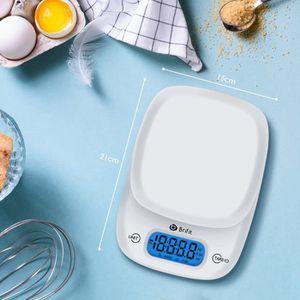 BALANCE ÉLECTRONIQUE Balance de cuisine électronique,11lb/5KG,Fonction