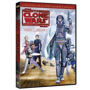 DVD DESSIN ANIMÉ DVD Star wars The clone wars Saison 2 Partie 3