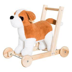 PORTEUR - POUSSEUR Pousseur porteur chariot de marche chien fonction