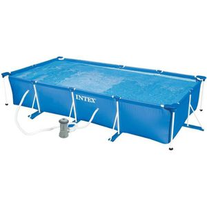 Piscine tubulaire rectangulaire intex achat vente for Piscine hors sol intex pas cher