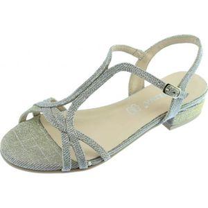 SANDALE - NU-PIEDS GADENI - Nu-pieds sandales à petit talon chaussure