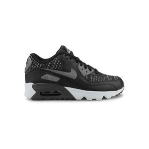BASKET Baskets Nike Air Max 90 Mesh Se Junior Noir.