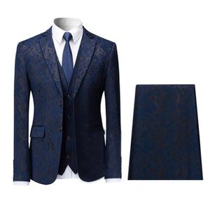 COSTUME - TAILLEUR Hommes Costumes de Mariage (3 pièces) Mode Smoking acce5b23c80