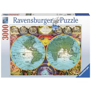 PUZZLE Puzzle Planisphère antique 3000 pcs