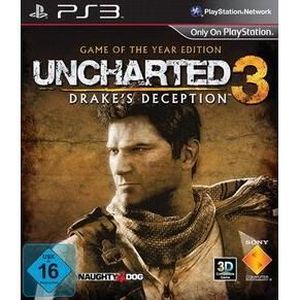 JEU PS3 UNCHARTED 3 - DRAKE'S DECEPTION (GAME OF THE YE…