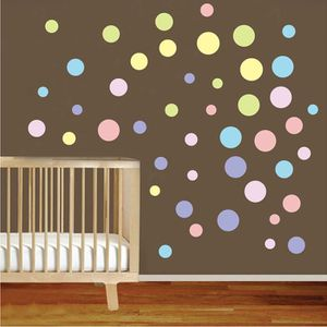 objet dcoration murale sticker mural point color autocollant dcoration