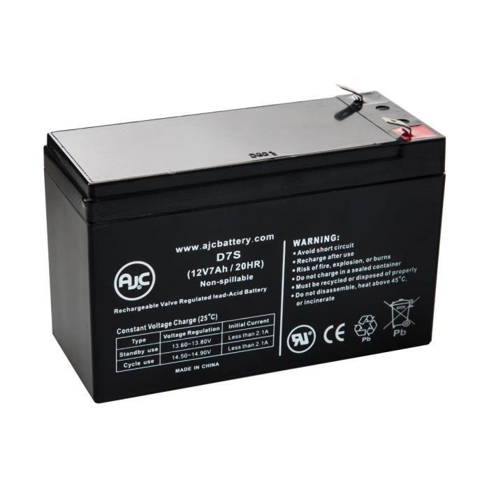 Batterie Dell APC Smart-UPS 2200 Rack Mount 3U (DL2200RM3U) 12V 7Ah UPS - AJC-D7S-S-8-161520