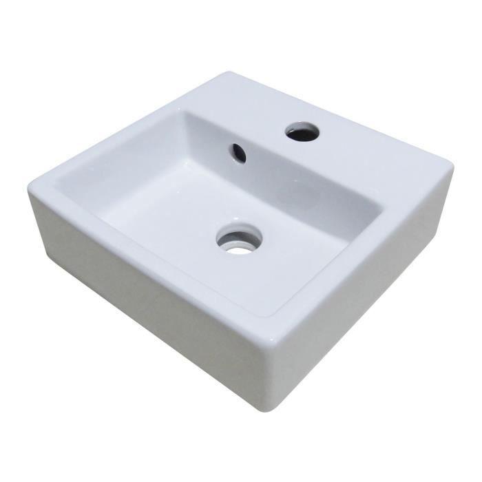 ONDEE - FIGARI Lave-mains 29cm BLANC